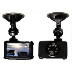 "DASH CAM MICROTELECAMERA FULL HD CON DVR E MONITOR 2,7"" PER AUTOMEZZI DENVER"