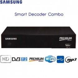 DECODER  DIGITALE SAMSUNG GX-ME530TK/ZT TERRESTRE E SATELLITARE CON TESSERA MEDIASET