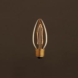 LAMPADINA VINTAGE EGLOO G125 40W VORTICE