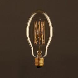 LAMPADINA VINTAGE LAMPADINA EDISON 30W - VETRO ANTICATO